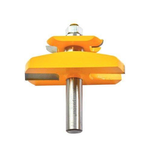 Kempston 403461b Raised Panel Bit w/Back Cutter, 15D 1/2Zoll Schaft, 1–1/4-Zoll Schneiden Durchmesser, 1–5/8Länge (Raised Panel Bit)
