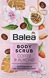 Balea Body Scrub Coffee & Almond, 1 x 40 g