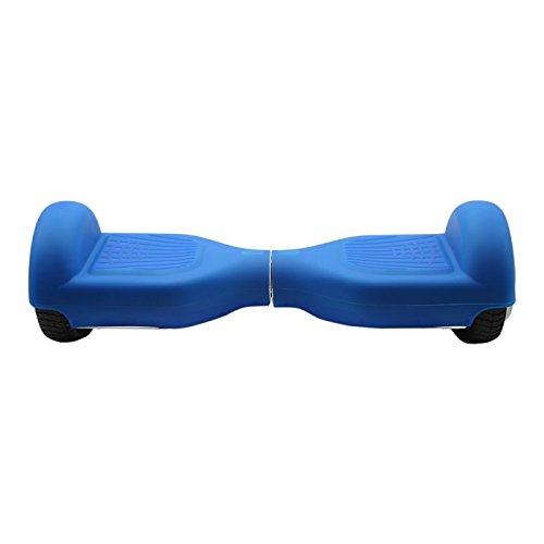 SmartGyro Serie X Cover Blue, Custodia in Silicone Trasparente Antiscivolo per Proteggere Sport e Tempo Libero, Blu, X