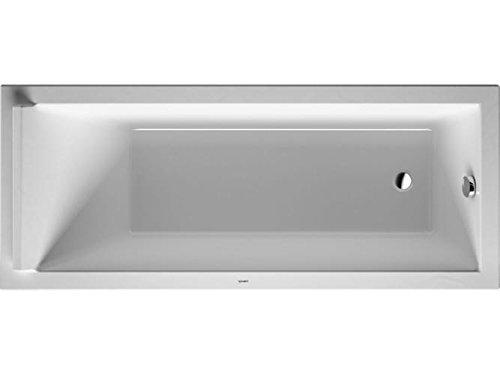 Duravit bañera Starck 1700 x 750 mm para la versión de montaje de, de colour blanco, 700335000000000