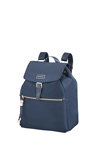 SAMSONITE Karissa - Backpack 1 Pocket Mochila Tipo Casual, 31 cm, 15 Liters, Azul (Dark Navy)