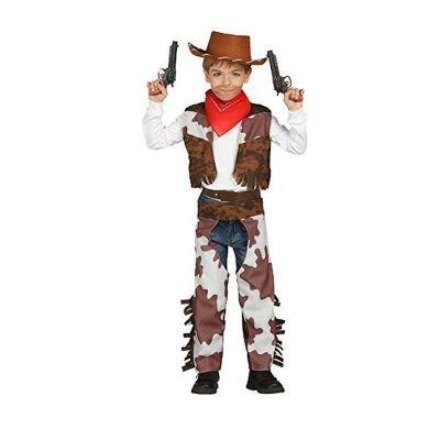 Guirca Costume Cowboy per Bambini, 5-6 anni 85684