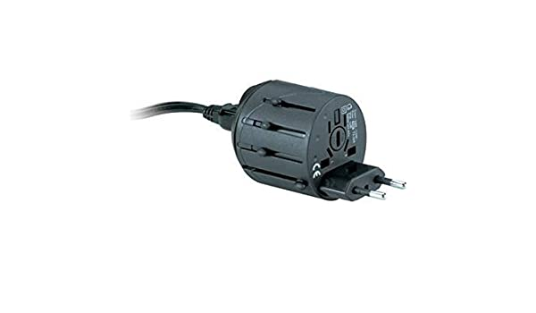 Kensington K33117 International All-in-One Travel Plug Adapter Standard 2 Prong