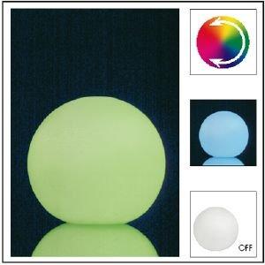 Boule lumineuse LED - Sphère Lumineuse qui change de couleurs - Lampe déco et veilleuse