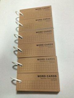 Mini Blank Flash Cards with Binder Ring - 1.5 X 3.5 Set of 6 Decks, 80 Cards Each (480 Cards) (Mini 6-ring-binder)