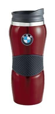 Preisvergleich Produktbild BMW Stainless Steel Red Travel Coffee Mug