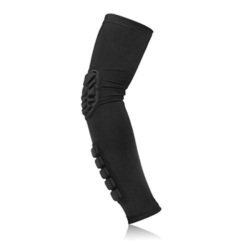 ideapro-1-elastisch-atmungsaktiv-gym-sports-ellenbogenschoner-basketball-arm-sleeve-honeycomb-ellenb