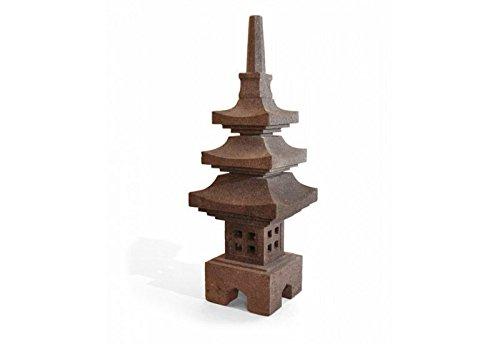 Lanterne japonaise SAKU en pierre H 90 cm