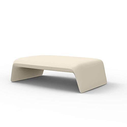 Vondom Blow Table Basse pour l'extérieur écru