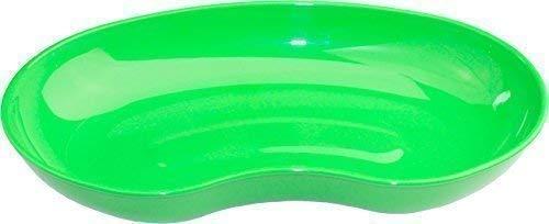 Nierenschalen Nieren Schale von Medi-Inn aus Kunststoff verschiedene Mengen und Farben (1 Stück, grün)