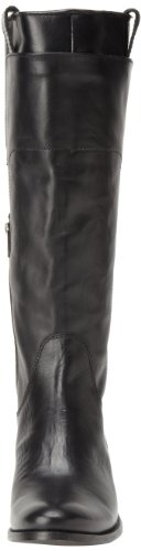 Frye  Melissa Tall Riding,  Stivali donna Nero (Noir (Blk))