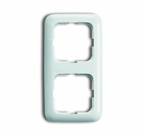 BUSCH-JAEGER Reflex SI Komplett-Sets - Alpinweiß (2x Steckdose, 1x Rahmen 2fach) - 3
