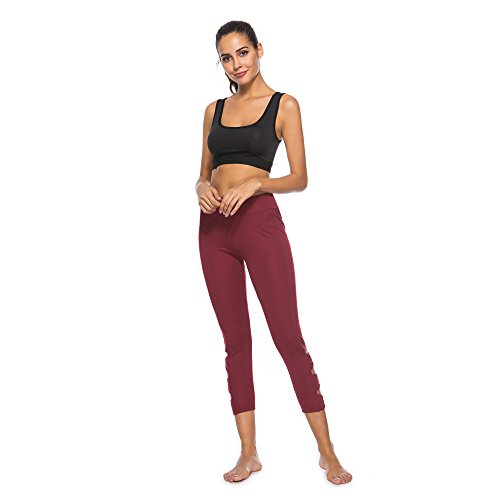 Ears Damen Leggings Fitness Sport Gym Jogginghose Leisure Skinny Hose Casual Streetwear Elegant Laufenhosen Hohe Taille Training Tights Gym Pants Laufhose Basic Bleistift Hose Outdoorhose