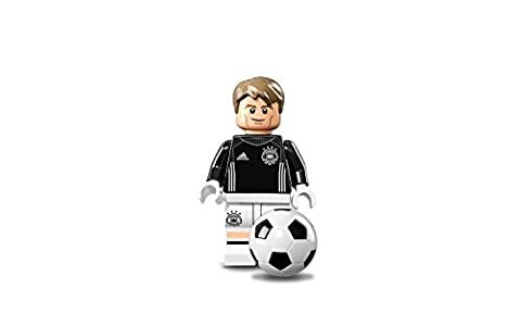Lego 71014 - Minifigure Goalkeeper Manuel Neuer - No.1 from DFB - The German Soccer Team (open bag) by LEGO