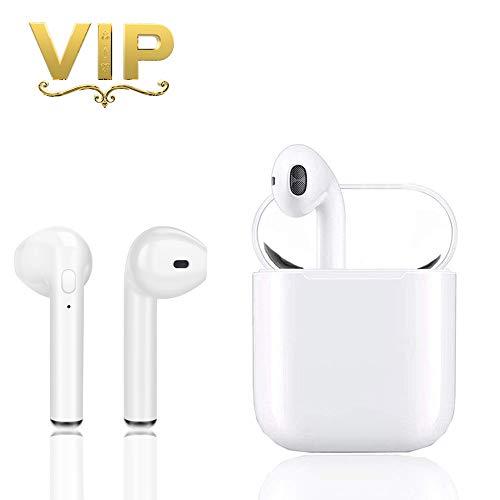Inalámbricos Auriculares Bluetooth 5.0,Verdaderos Mini Deportes Auriculares inalámbricos con micrófono Bass IPX5 Auriculares Deportivos,Auriculares compatibles para Samsung iOS Android Tableta,etc.
