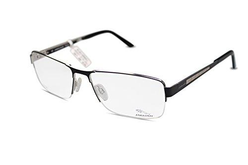 Preisvergleich Produktbild JAGUAR Herren Brille Modell 35037 610 in schwarz aus Titan Größe 59-17