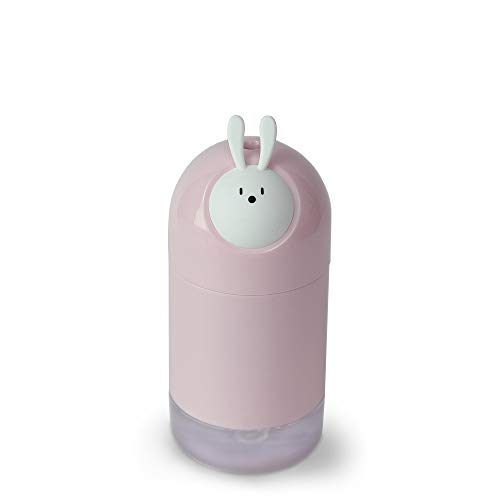 Renh Free Star Animal Elf Humidifier USB Desktop Mini Air Purifier Gift with Hand Gift, Pink -