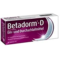 Betadorm -D Ein- und Durchschlafmittel Spar-Set 2x20Tabletten, Zur Kurzzeitbehandlung von Schlafstörungen bei... preisvergleich bei billige-tabletten.eu