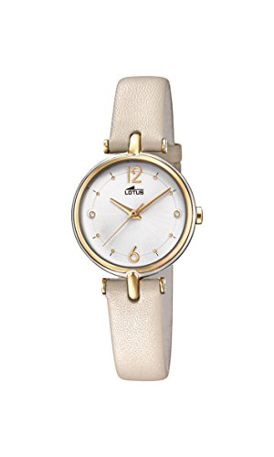 Lotus Watches Womens Analogue Classic Quartz Watch with Leather Strap 18459/1