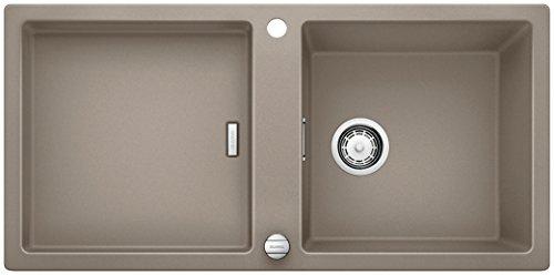 Preisvergleich Produktbild Blanco ADON XL 6 S, Küchenspüle, Granitspüle aus Silgranit PuraDur, 1 Stück, tartufo, 519625