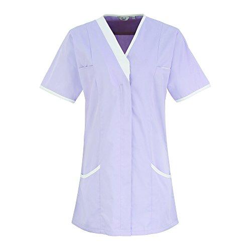 Premier - Chemisier - Femme Violet - Lilac/ White