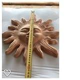 Sonne strahlend in terracotta 40cm