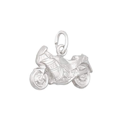 ASS - Colgante de plata 925 para hombre, doble cara