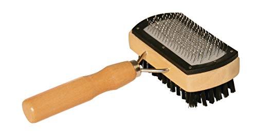 Basic Care Slicker Brush doble tapas protectoras cerdas