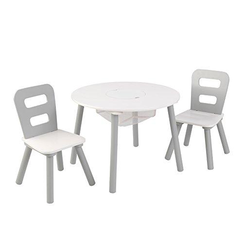 KidKraft 26166Set Tisch rund mit zwei Stühlen