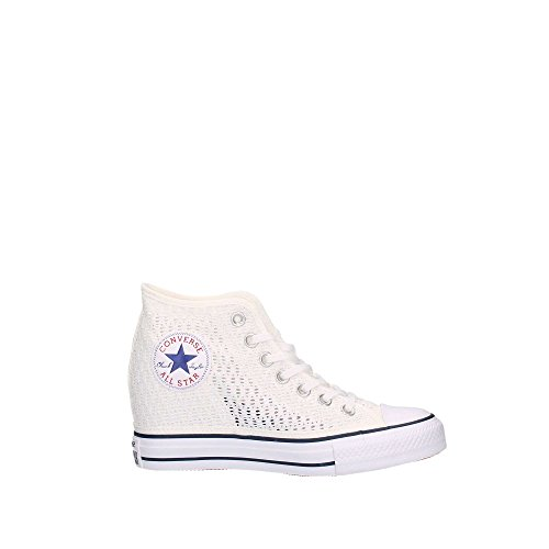 All Star Mid Lux Tiny Crochet Donna Bianco