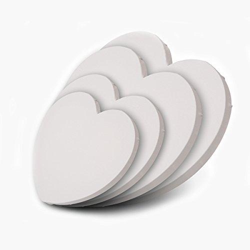 Herz Leinwand (Honsell - Künstlerbedarf Keilrahmen in Herzform, 30x30 cm [Spielzeug])