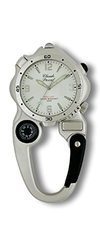 Claude Pascal Kinderuhr Fun watch mit Karabiner Kompass Leuchte Lupe 7280808 (Watch Karabiner)