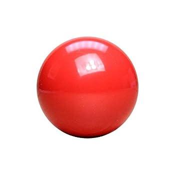 Bola de billar roja 5 8 cm