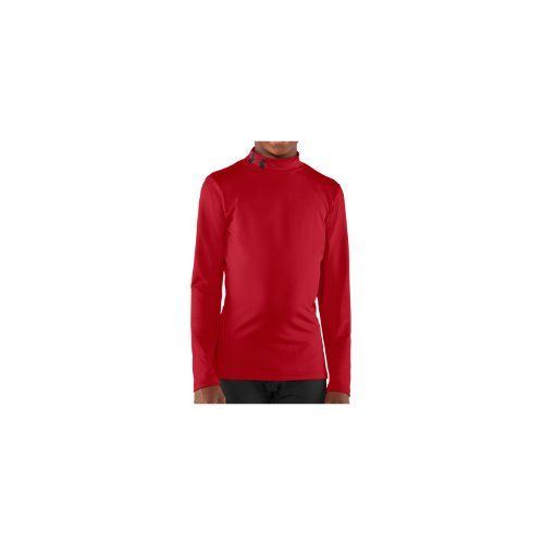 Under Armour Kinder Sweatshirt Evo CG Fitted Mock, rot 600, M YMD