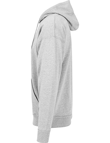 Oversized Sweat Hoody Urban Classics Streetwear Felpa Cappuccio Uomo Grey