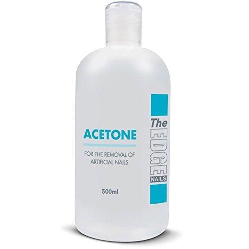The Edge Nails Dissolvant Acétone Pointe de haute qualité 500 ml