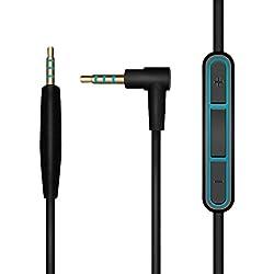 Etase Cable Audio de Remplacement pour Cordon Audio QC25 QC35 SoundTrue OE2 OE2I AE2I Casque Silencieux avec Micro