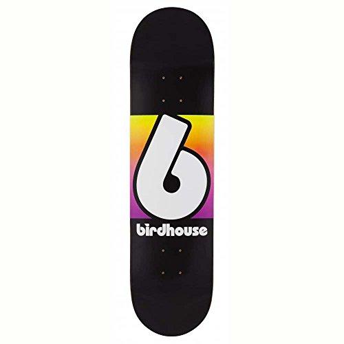 Birdhouse Skateboard-Deck Block Logo - 8 Inch Schwarz-Multi (One Size , Schwarz) (Cachet-block)