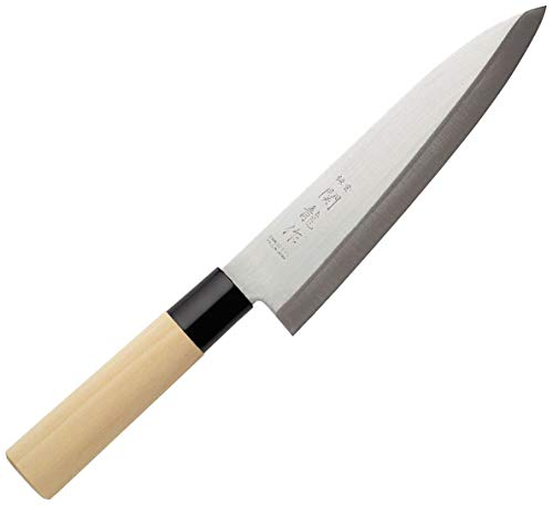 Sekiryu sr900, coltello da cucina, acciaio inossidabile, argento