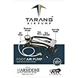 Tarang Air Foot Pump Steel Chrome Plated Body Use for Car or Motorbike or Bicycle Tyre Air Filling