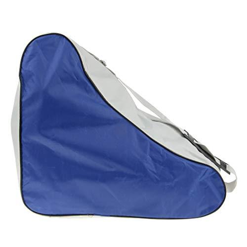 Baoblaze Leicht Inlineskate Schutzhülle Skateschuhe Tasche, Wasserdicht und Waschbar - Blau