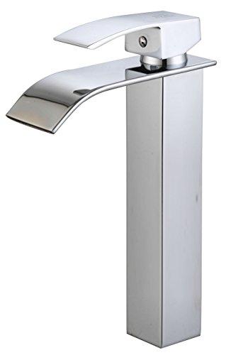 DP Grifería – Grifo monomando de lavabo alto efecto cascada ,modelo Eneldo