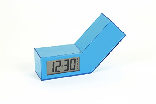 Lexon reloj despertador digital LR98 encendido apagado blue