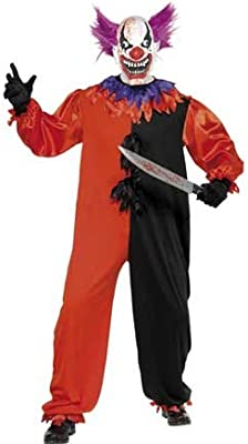 Disfraz Payaso Bo Bo Escalofriante Circo Siniestro Traje Adulto Halloween Hombre