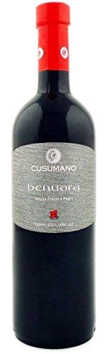Cusumano vino benuara terre siciliane igt, 2015-6 bottiglie da 750 ml