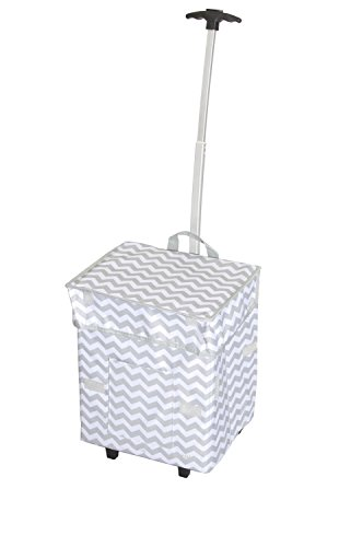 dbest-trendy-smart-cart-11-inch-x-13-x-43-cm-motif-chevrons
