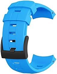 Suunto Ambit3 Vertical Bracelet de Montre Mixte Adulte, Bleu