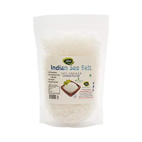 Thanjai Natural's Indian Non Iodised Sea Salt 1000grams Traditionally Made 100% Natural