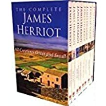 Complete James Herriot Boxed set 8 Book Collection RRP £55.92 - All creatures great and small (The Lord God Made Them All, Vet In A Spin, Vets Might Fly, Vet In Harness, Let Sleeping Vets Lie, It Shouldn't Happen To A Vet, If Only They Could Talk) (All creatures great and small)