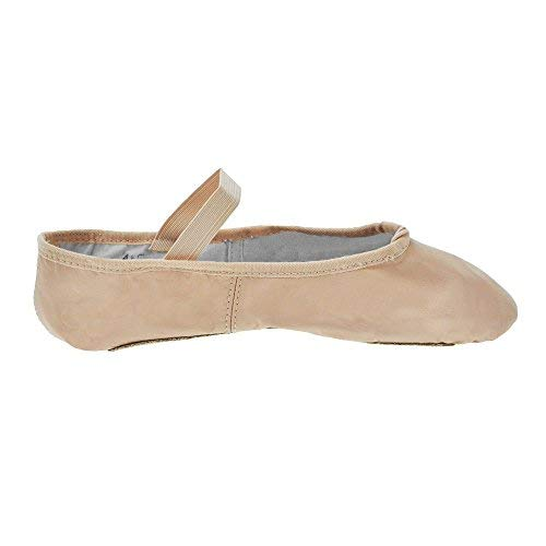 Zapatillas de ballet de tela de suela completa Bloch - Rosa - Tamaño 31.5 - C Fitting